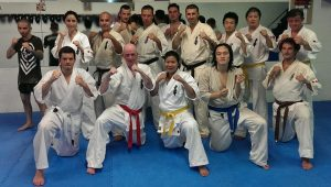 Contact Kicks Kyokushin Class