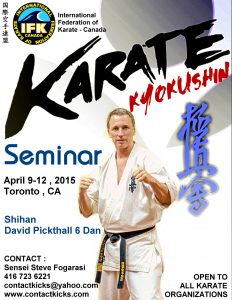 Shihan David Pickthall Seminar