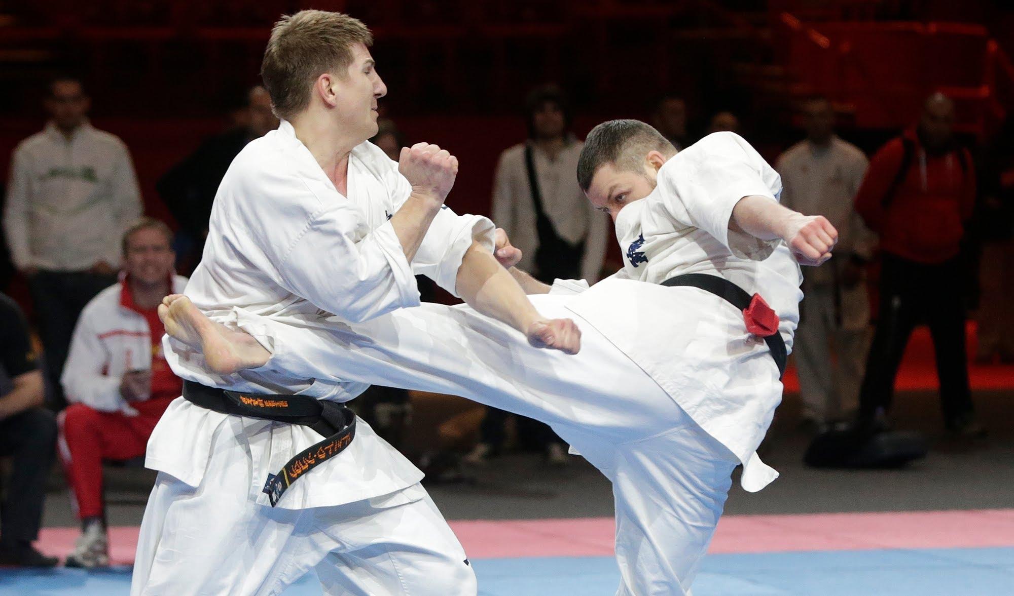 kumite kyokushin, karate shotokan vs karate kyokushin