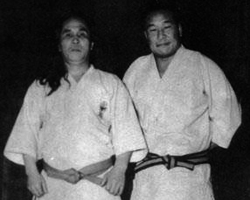 Gogen Yamaguchi and Mas Oyama