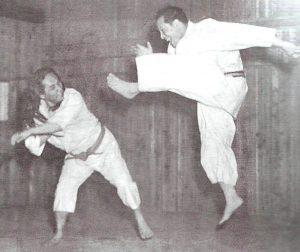 Mas Oyama and Gogen Yamaguchi