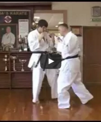 Inside low kick to knock balance, with Andrey Stepin
