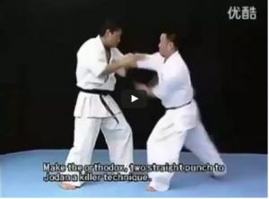 Kenji Midori Shinkyokushin (Kyokushin) Kumite Tutorial