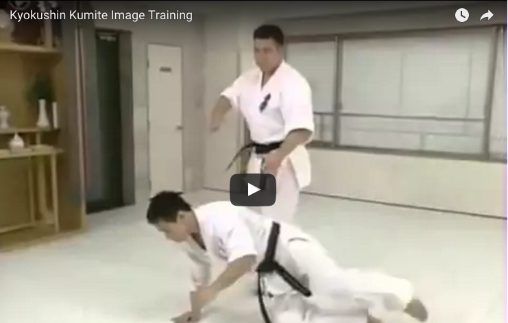 Kyokushin Kumite Training with Akiyoshi (Shokei) Matsui