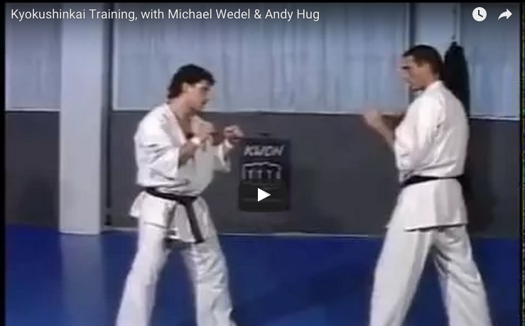 Kyokushinkai Training, with Michael Wedel & Andy Hug