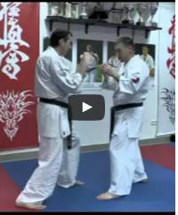 Oi tsuki - kumite Shihan Alexei Gorokhov. Lesson 1