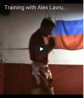 Conditioning Training with Alex Lavrushin