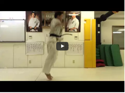Kyokushin – Combination #2 – Kihon training at the dojo of Arthur Hovhannisyan
