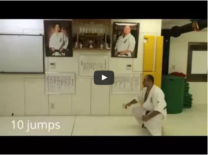 Kyokushin – Legs Training Beginners with Arthur Hovhannisyan