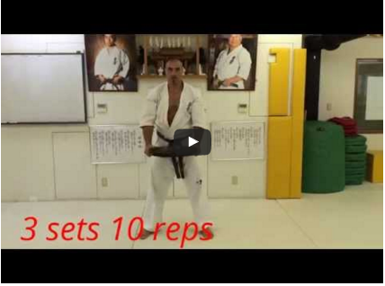 Kyokushin – Upper Body Training, with Arthur Hovhannisyan