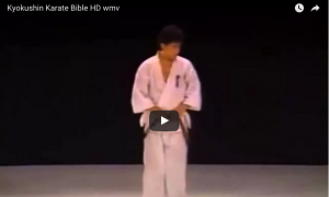 The Kyokushin Karate Bible, featuring Sosai Mas Oyama