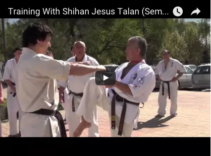 Training With Shihan Jesus Talan