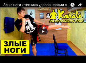 Utilizing a Chair as a Tool for Kicking, with Sensei Dmitry Solodovniko