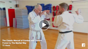 Bunkai demonstration from the Bubishi- The Classic Manual of Combat with Patrick McCarthy