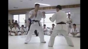Hajime Kazumi 100 Man Kumite