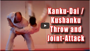 Kanku-Dai Throw and Joint-Attack with Sensei Iain Abernethy