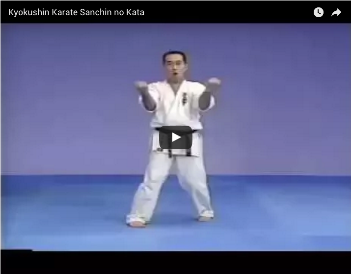 Kyokushin Karate Kata Sanchin no Kata
