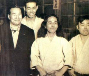 Mas Oyama with Goen Yamaguchi