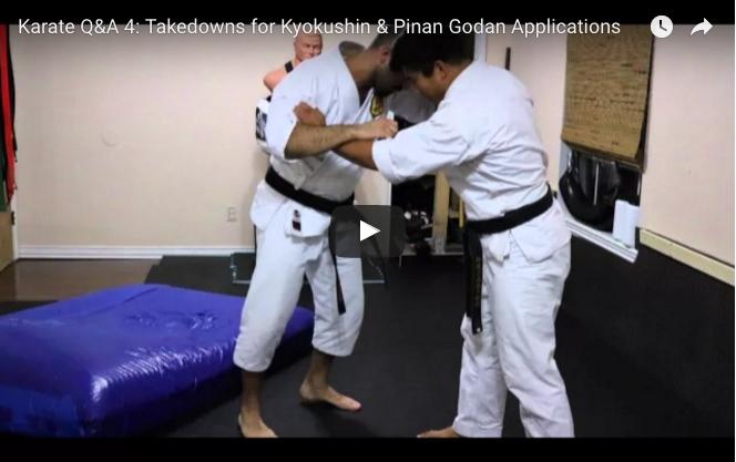 Takedowns for Kyokushin
