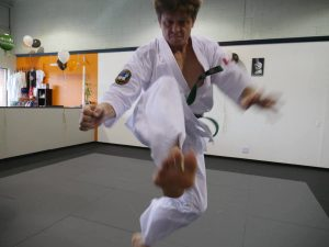 Mihai Cotop of Contact Kicks Dojo