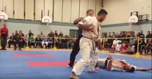 IFK Canada's Amir Bahmeyeh's KO at the 2015 Budo Giant Challenge
