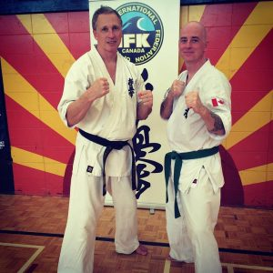 Shihan and the author Scott Heaney