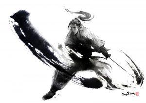 samurai slash