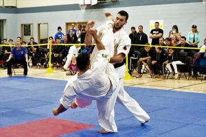 Amir Bahmeyeh of Contact Kicks Dojo
