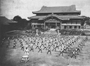 Karate at Shuri Castle